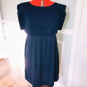 Adorable Size XL  Marine Blue Knit Maternity Dress